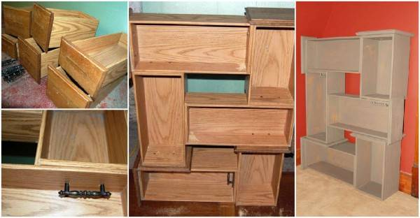 Creative Ideas Diy Repurpose Old Drawers Into Awesome