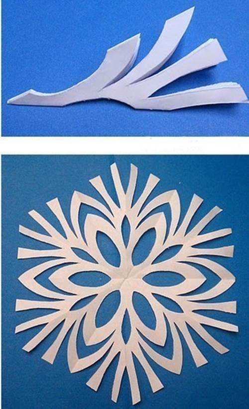 Creative ideas 8 easy paper snowflake templates creative ideas 8 easy paper snowflake templates 1 maxwellsz