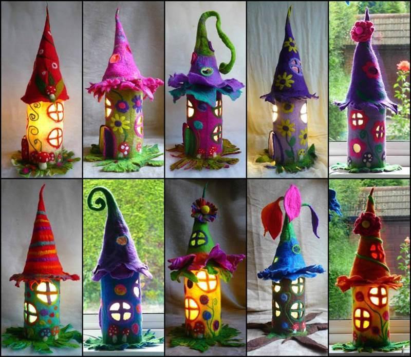 Creative Ideas Diy Adorable Mini Fairy Houses
