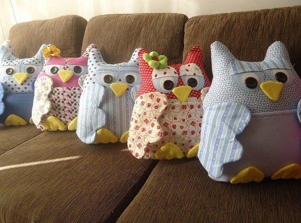 Creative Ideas - DIY Cute Fabric Owl Ornaments with Free Pattern 1