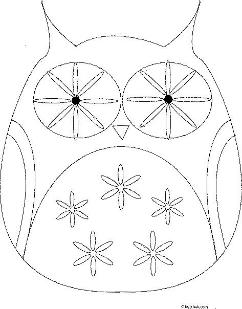 Creative Ideas - DIY Cute Fabric Owl Ornaments with Free Pattern 7