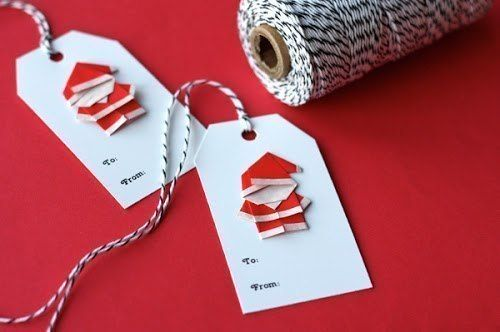 Creative Ideas - DIY Cute Origami Santa 2