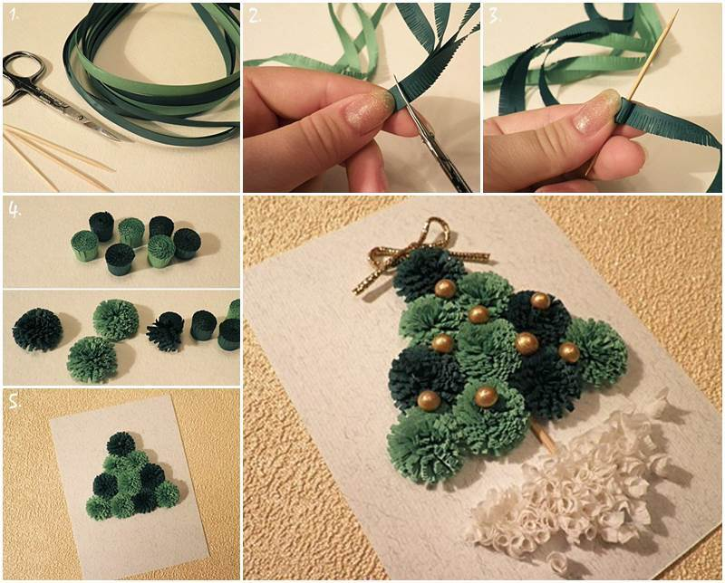 Creative Ideas Diy Mini Quilling Christmas Tree