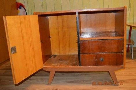 Creative Ideas - DIY Repurpose an Old Nightstand into a Play Kitchen 2