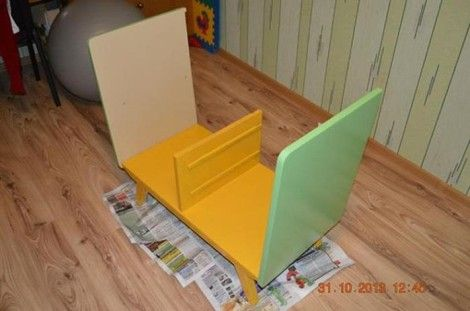 Creative Ideas - DIY Repurpose an Old Nightstand into a Play Kitchen 5