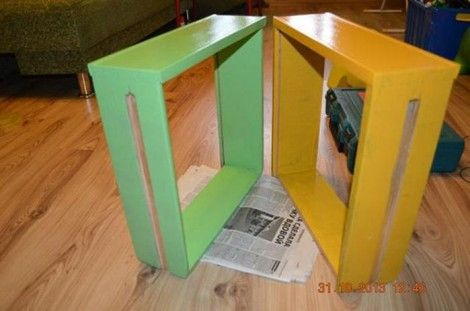 Creative Ideas - DIY Repurpose an Old Nightstand into a Play Kitchen 6