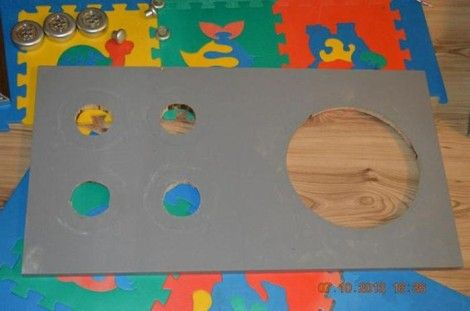 Creative Ideas - DIY Repurpose an Old Nightstand into a Play Kitchen 9
