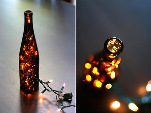 Creative Ideas - DIY Stunning Wine Bottle Light