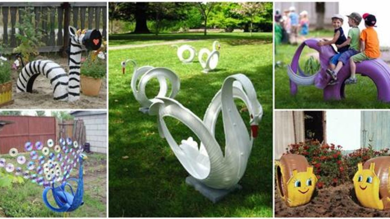 40 Creative Diy Ideas To Repurpose Old Tire Into Animal Shaped Garden Decor