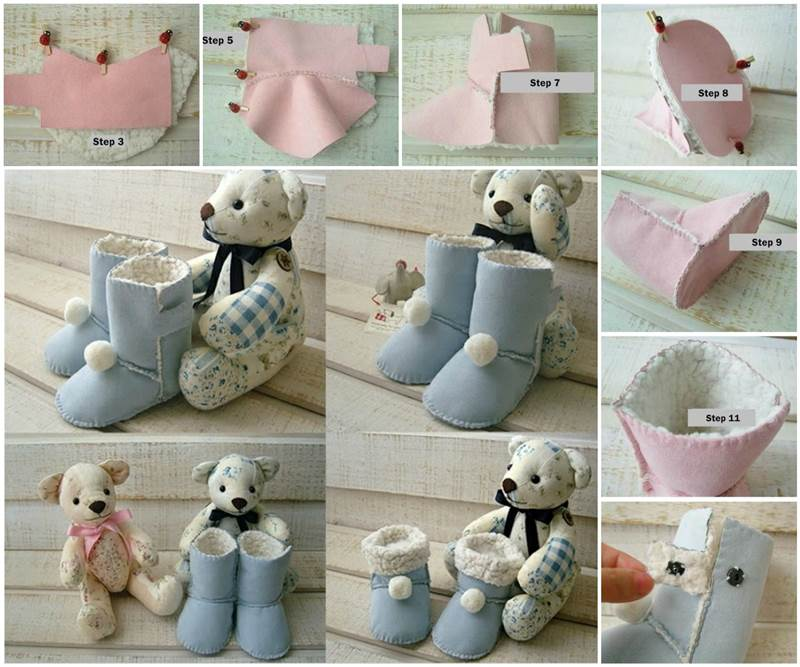 Creative Ideas Diy Baby Ugg Boots