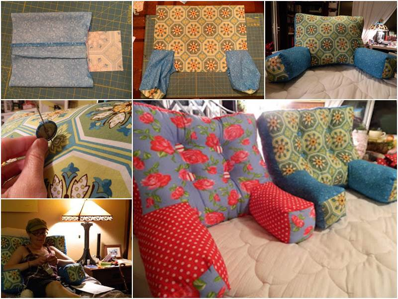 Creative Ideas - DIY Comfy Armchair Pillows & Ideas - DIY Comfy Armchair Pillows pillowsntoast.com