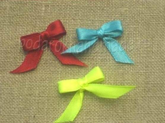 Creative Ideas - DIY Satin Ribbon Bow with a Fork 8
