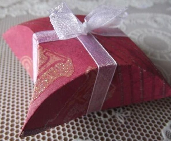 DIY Easy Gift Box Using a CD 6