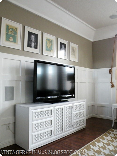 30+ Creative Uses of PVC Pipes in Your Home and Garden --> PVC Pipe Dresser Overhaul