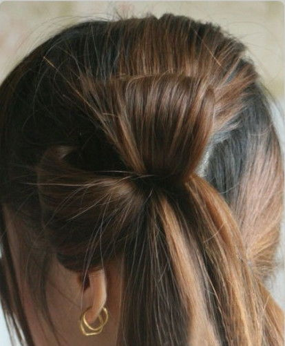 Creative Ideas - DIY Chic Flower Petal Updo Hairstyle 3