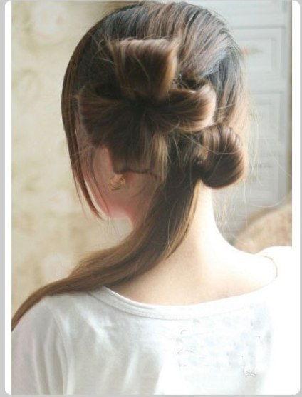 Creative Ideas - DIY Chic Flower Petal Updo Hairstyle 5