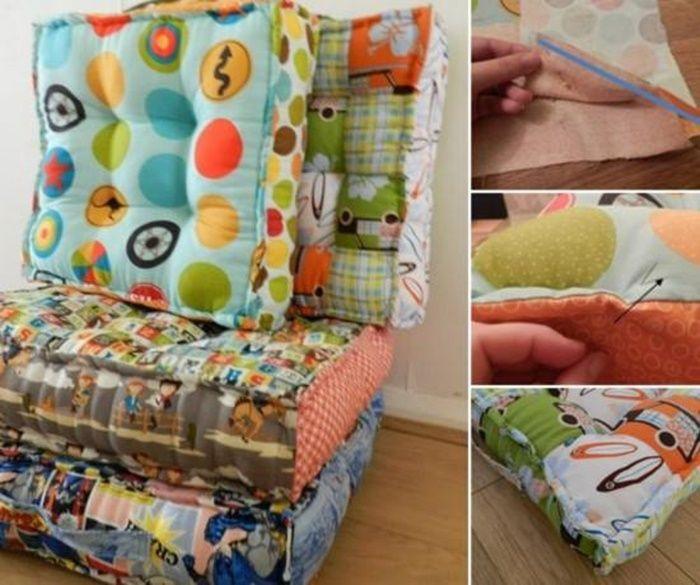 Seat Cushion Sewing Pattern