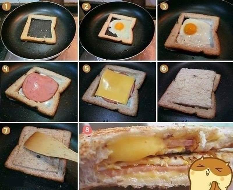 Creative Ideas - DIY Easy Delicious Sandwich
