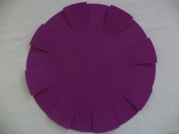 Creative Ideas - DIY Easy and Pretty Felt Basket 5