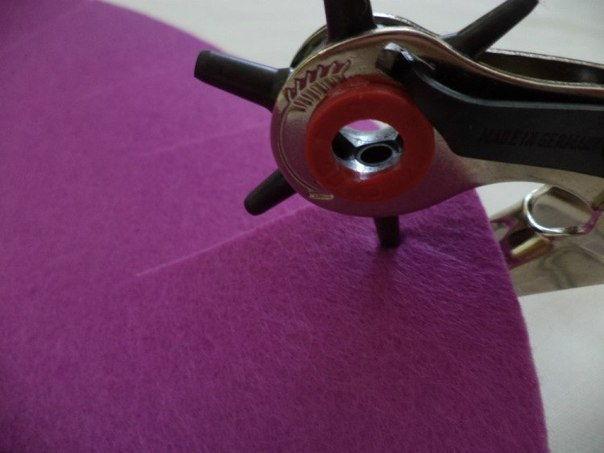 Creative Ideas - DIY Easy and Pretty Felt Basket 6