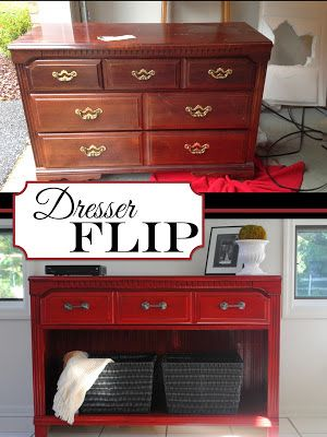 furniture repurpose ideas. 20+ Creative Ideas And DIY Projects To Repurpose Old Furniture --\u003e Thrifted Dresser R
