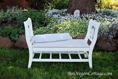 20+ Creative Ideas and DIY Projects to Repurpose Old Furniture --> Make A French-Style Bench From Old Chairs