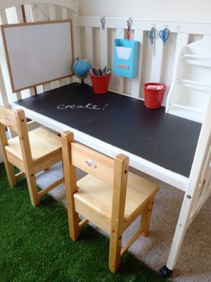 20+ Creative Ideas and DIY Projects to Repurpose Old Furniture --> Repurposed Cot