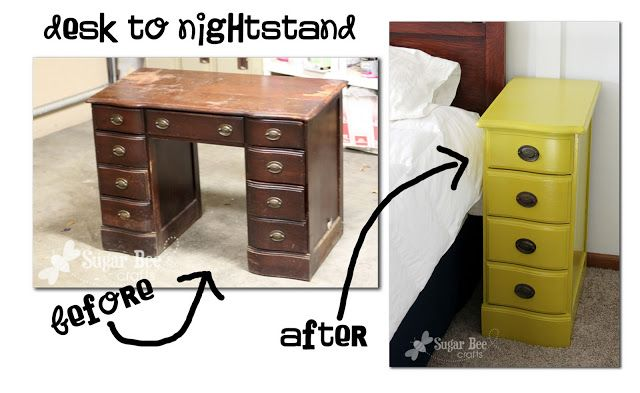 20 Creative Ideas And Diy Projects To Repurpose Old Furniture Nightstands From
