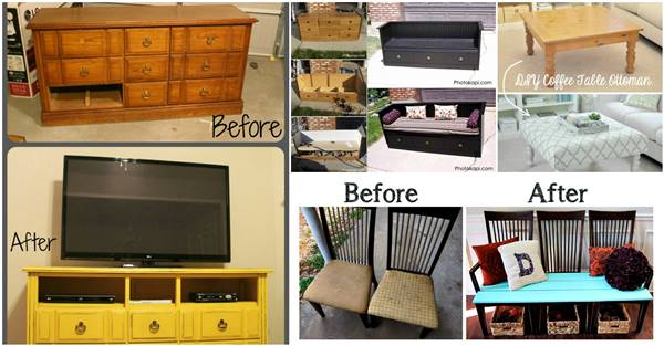 How To Repurpose Old Furniture 20+ creative ideas and diy projects to repurpose old furniture