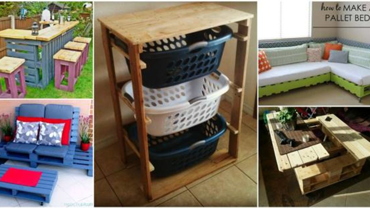 15+ Creative Pallet Furniture DIY Ideas and Projects