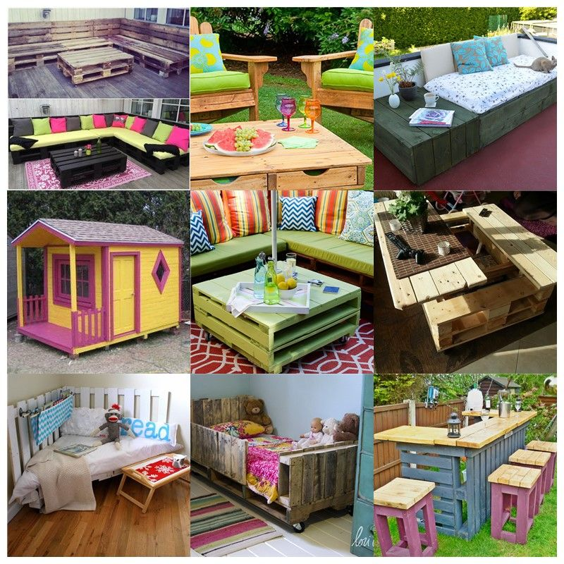 Wood pallet furniture Reclaimed 30 Creative Pallet Furniture Diy Ideas And Projects The Spruce How To Diy Patio Sofa From Wooden Pallets