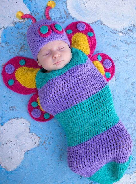 40 Adorable Crochet And Knitted Baby Cocoon Patterns Mesmerizing Free Crochet Pattern For Baby Mermaid Cocoon