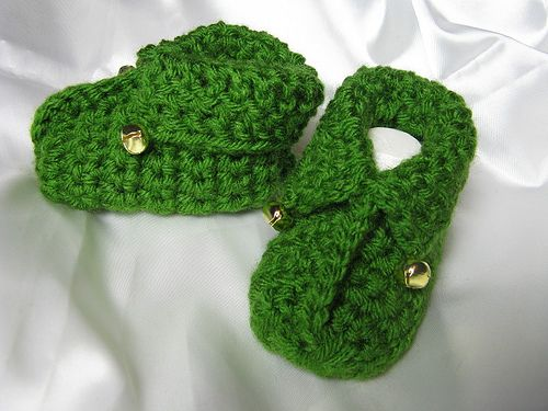 40+ Adorable and FREE Crochet Baby Booties Patterns --> Crochet Elfin Baby Booties