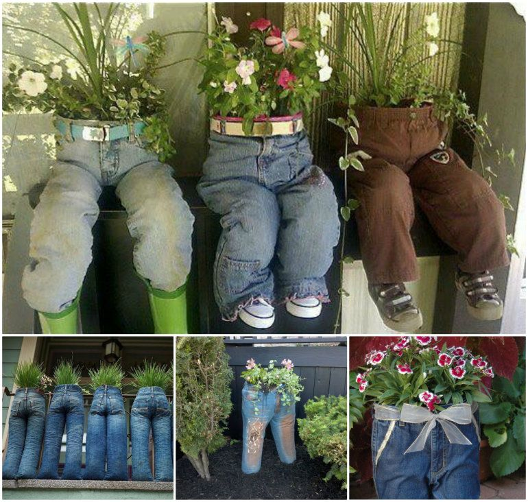 40+ Creative DIY Garden Containers And Planters From Recycled Materials   U003e  Upcycle Old