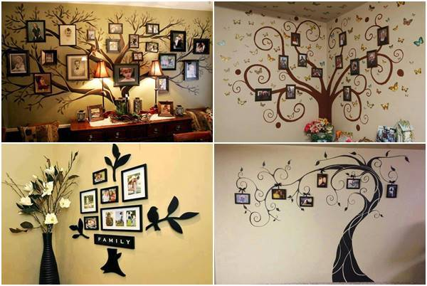 35 Creative Diy Ways To Display Your Family Photos