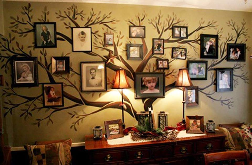 Family Picture Frames On The Wall Living Rooms
