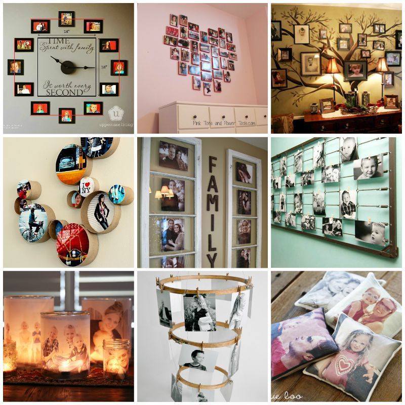 30+ Creative Ways to Display Your Family Photos