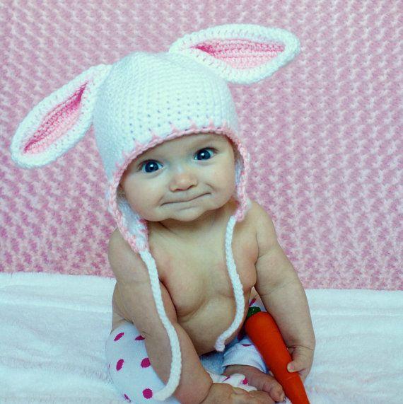 Creative Ideas Diy Adorable Crochet Bunny Hat