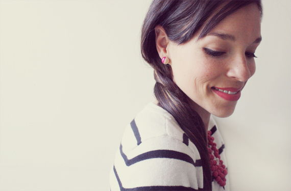 20+ Creative Uses of Nail Polish That You Need to Try --> DIY Kate Spade Inspired Dot Stud Earrings