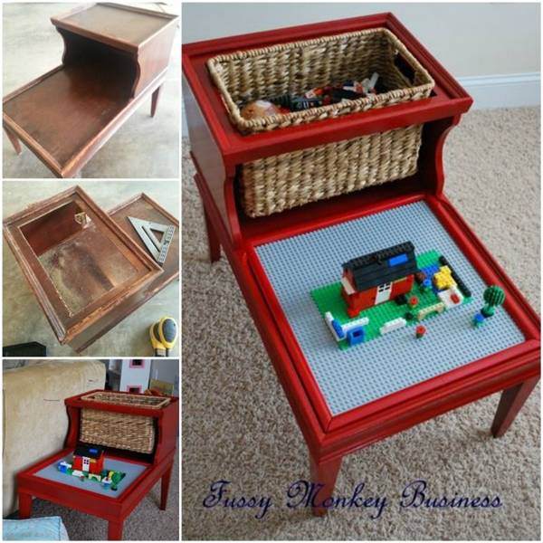 Creative Ideas Diy Easy Lego Table For Kids