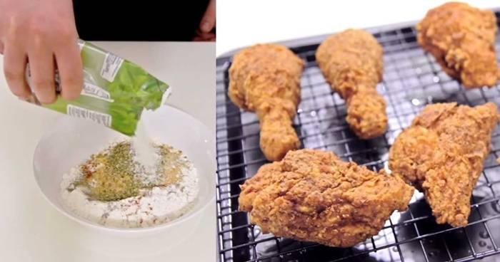 Creative Ideas - DIY Perfect Crunchy Fried Chicken