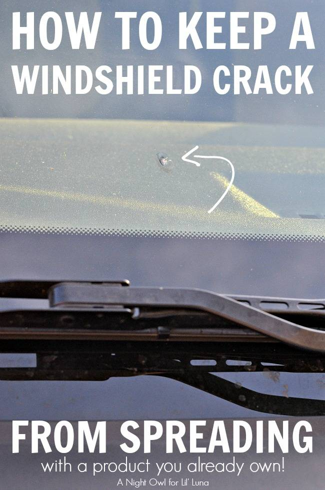25+ Easy and Useful Car Hacks Every Driver Should Know --> Use Nail Polish to Keep a Windshield Crack from Spreading