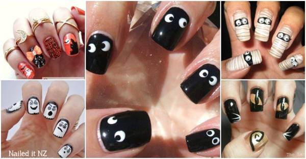 40 Spooky And Creative Diy Halloween Nail Art Ideas