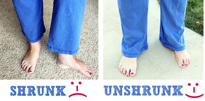 35+ Useful Clothing Hacks Every Woman Should Know --> How To unshrink your clothes