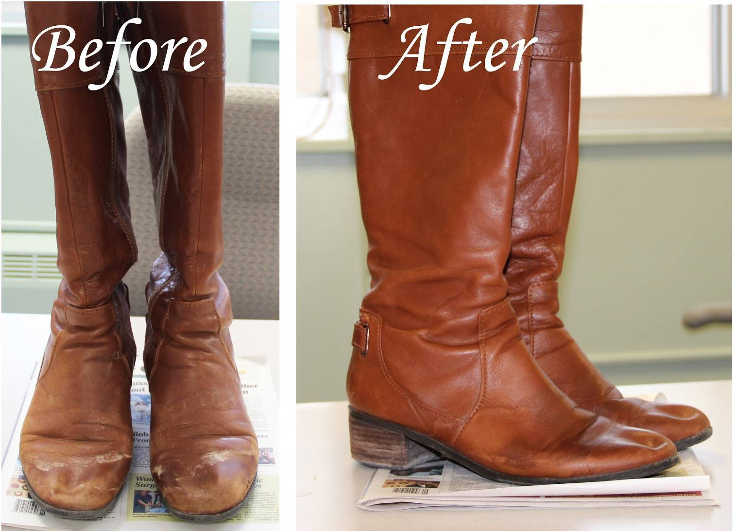 35+ Useful Clothing Hacks Every Woman Should Know --> How to remove salt stains from leather boots