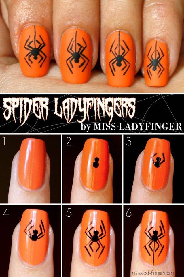 40+ Spooky and Creative DIY Halloween Nail Art Ideas on easy flower nail designs, easy diy halloween makeup, halloween cat nail designs, fun halloween nail designs, easy diy halloween costume, easy do yourself nail designs, halloween ghost nail designs, pink halloween nail designs, do it yourself halloween nail designs, easy food nail designs, easy home nail designs, opi halloween nail designs, homemade halloween nail designs, easy 4th of july nail designs, easy christmas nail designs, easy pumpkin nail designs, easy valentine's day nail designs, cool halloween nail designs, quick and easy nail designs, easy easter nail designs,