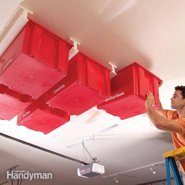 30 Creative Ceiling Decorating Ideas That Will Make Your: 30+ Creative Ways To Organize Your Garage