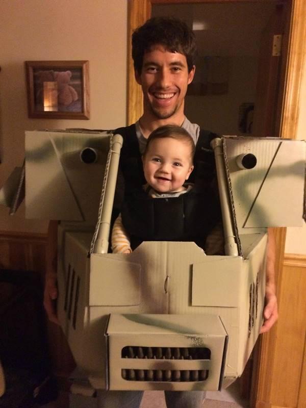 Creative Ideas - DIY Father-Son MechWarrior Halloween Costume