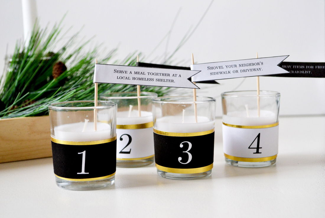 40+ Creative DIY Holiday Candles Projects --> 12 Days of Christmas Candles