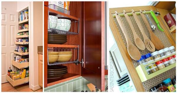 40+ Organization and Storage Hacks for Small Kitchens - i ...